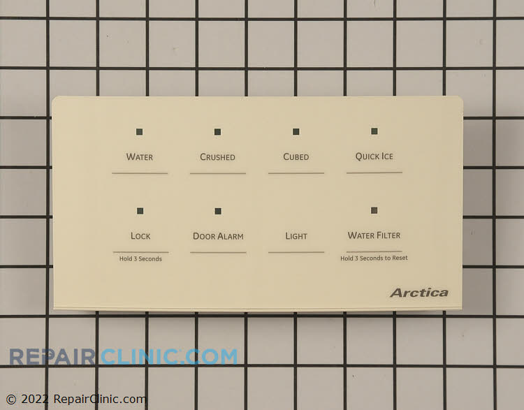 Touchpad and Control Panel WR55X10654      Alternate Product View