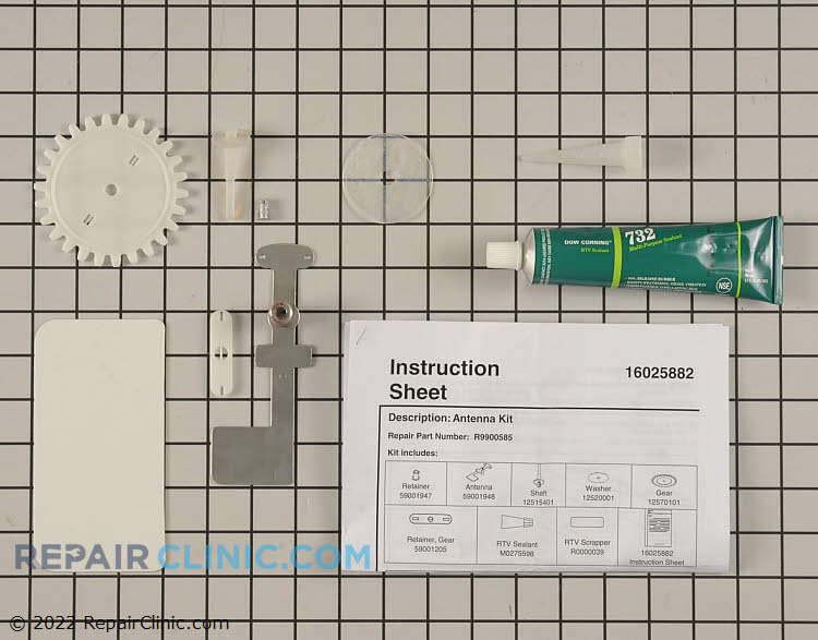 Installation Kit R9900585        Alternate Product View