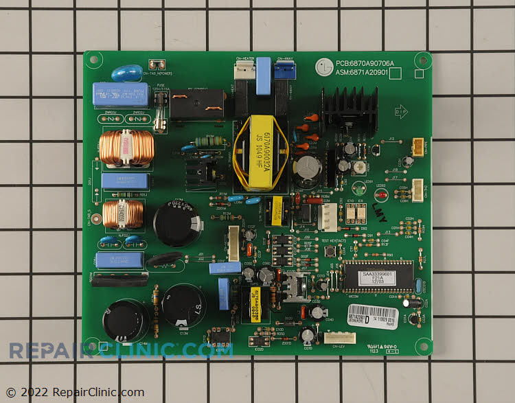 Main Control Board 6871A20901D     Alternate Product View