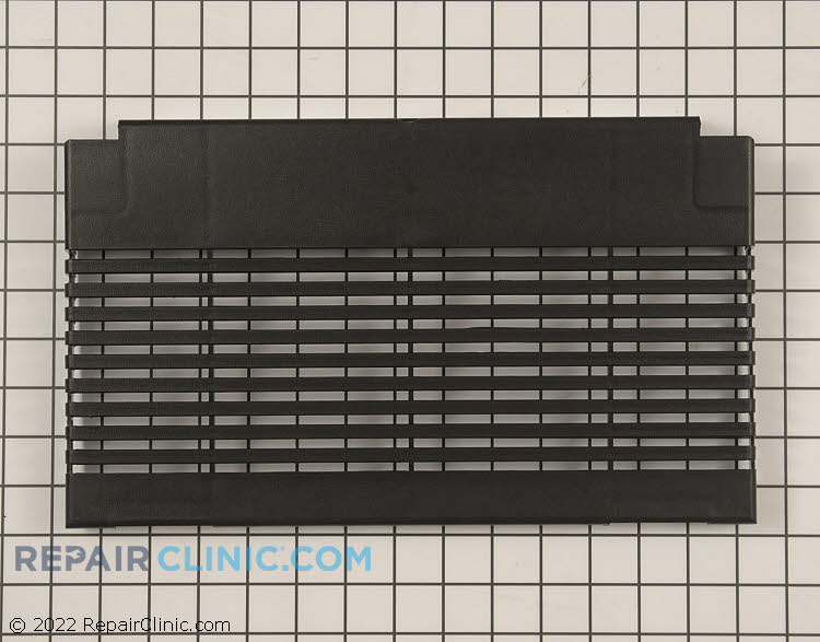 Vent grille cover, black