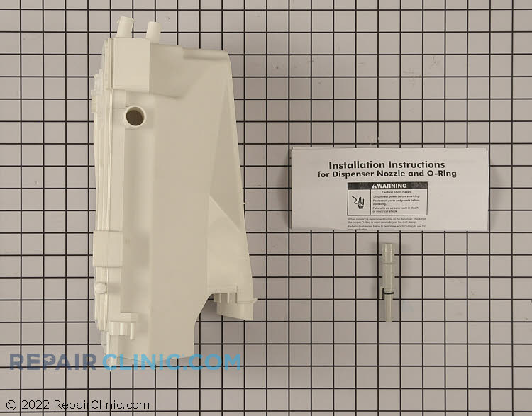 Detergent Dispenser 280198 Alternate Product View