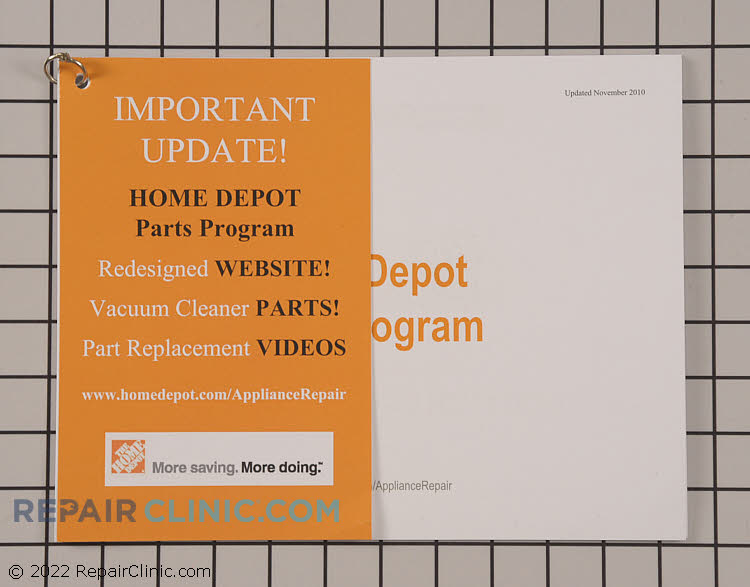 Home Depot Promotional Material HDTRAINMANUAL Alternate Product View