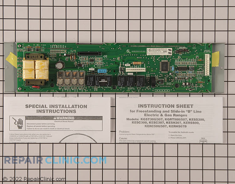 Oven Control Board 3191106         Alternate Product View