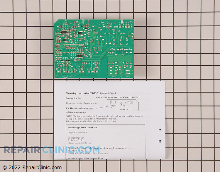 Control Board 8077347         Alternate Product View