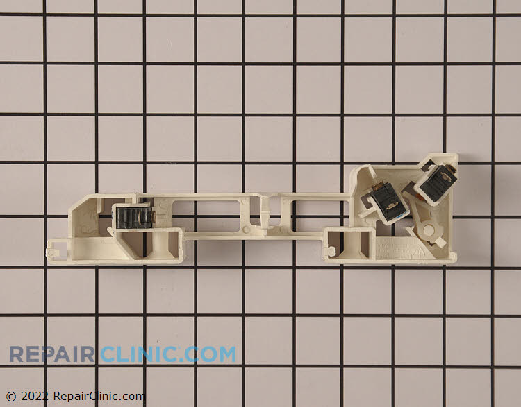 Door latch assembly with switches - Item Number DE96-00414A