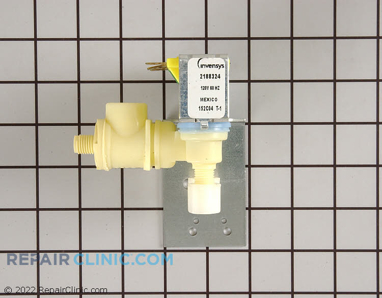 Dual coil secondary water inlet valve