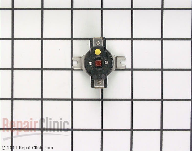 High temperature cut-out fuse *Push red button to reset.