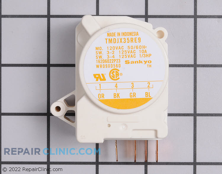 Defrost Timer WR9X560         Alternate Product View