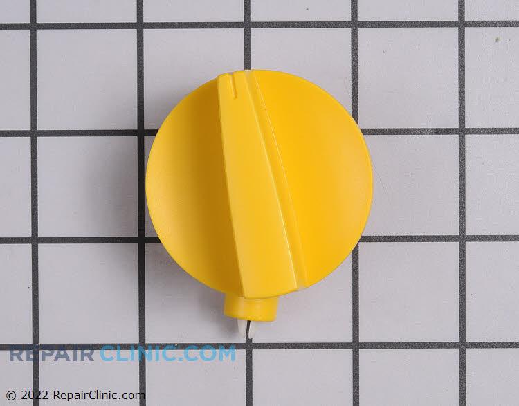 Diverter knob assembly, banana