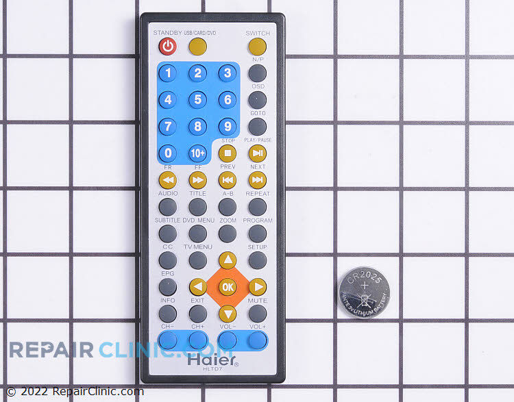 Remote Control TV-5620-100 Alternate Product View