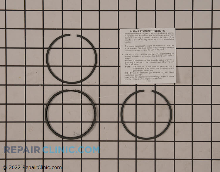Piston Ring Set 35547A Alternate Product View