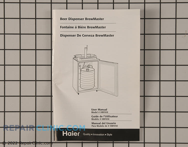Owner's Manual RF-9999-134     Alternate Product View