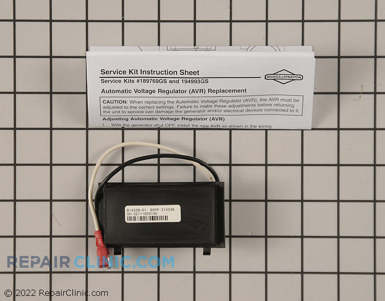 Voltage Regulator 314338GS        Alternate Product View