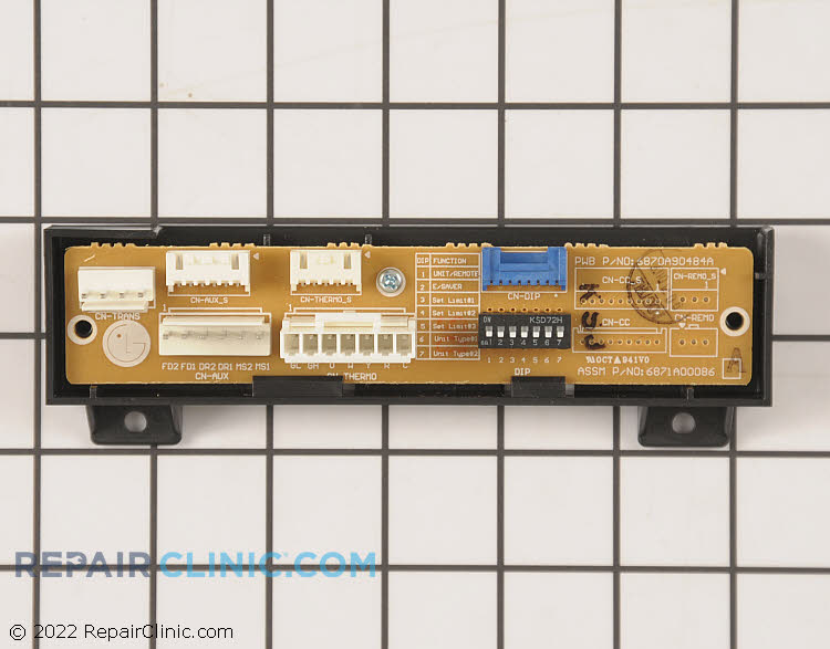 Sub. power control board assembly