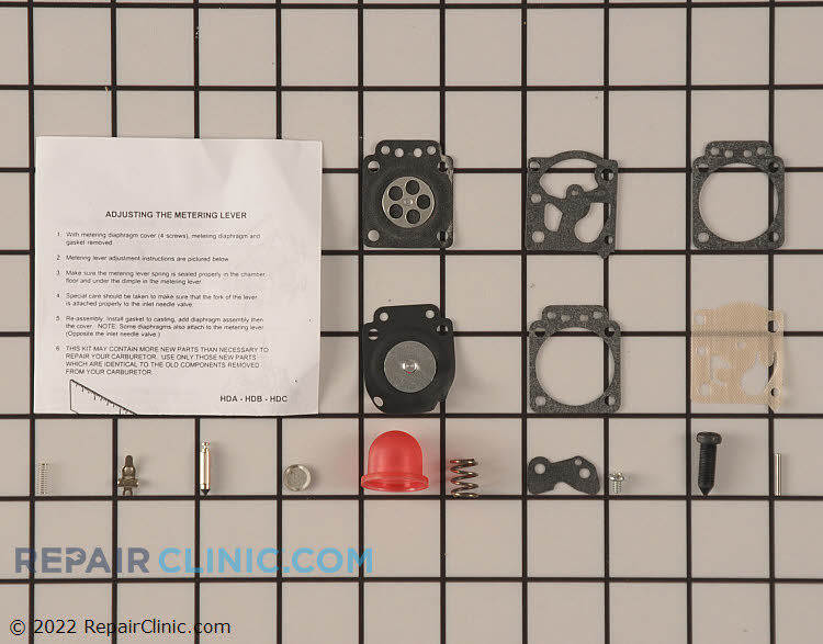 Carburetor Repair Kit 530069811 Alternate Product View