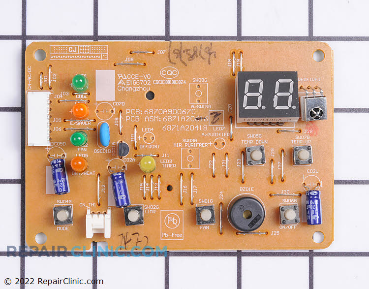Display Board 6871A20418E     Alternate Product View