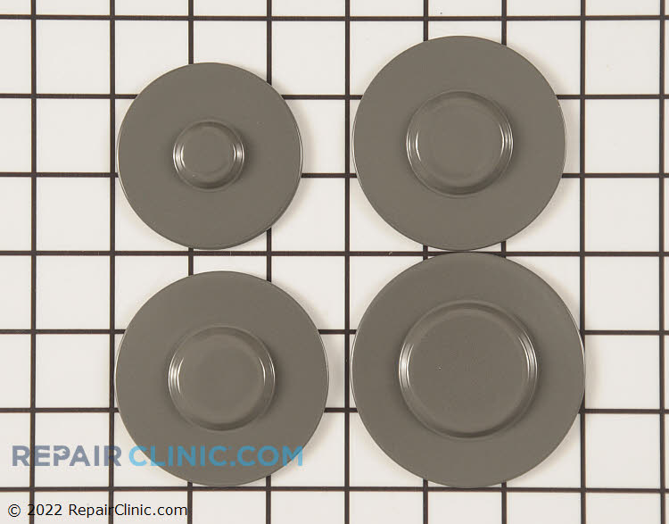 Surface Burner Cap WPW10165809 Alternate Product View
