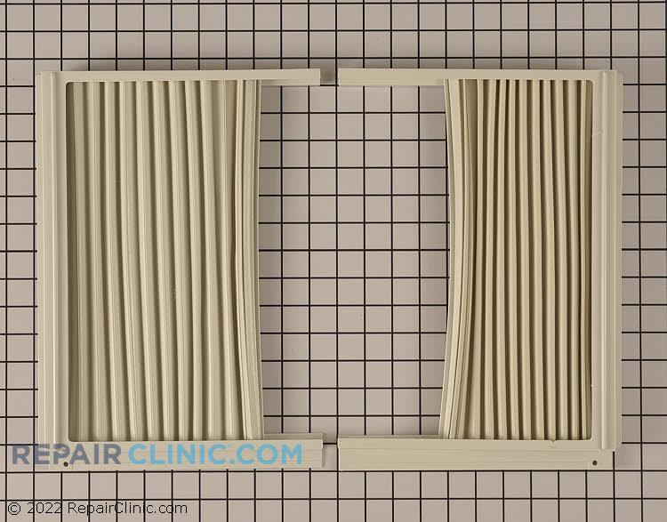 Air Conditioner Window Side Curtain And Frame 5304475241