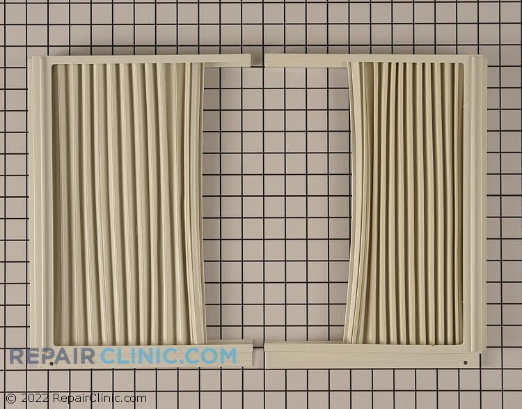 Accordian curtain kit