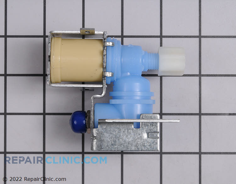 Single coil primary water inlet valve
