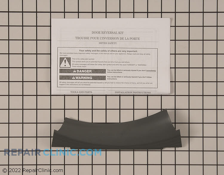 Door Reversal Kit W10315283RP Alternate Product View