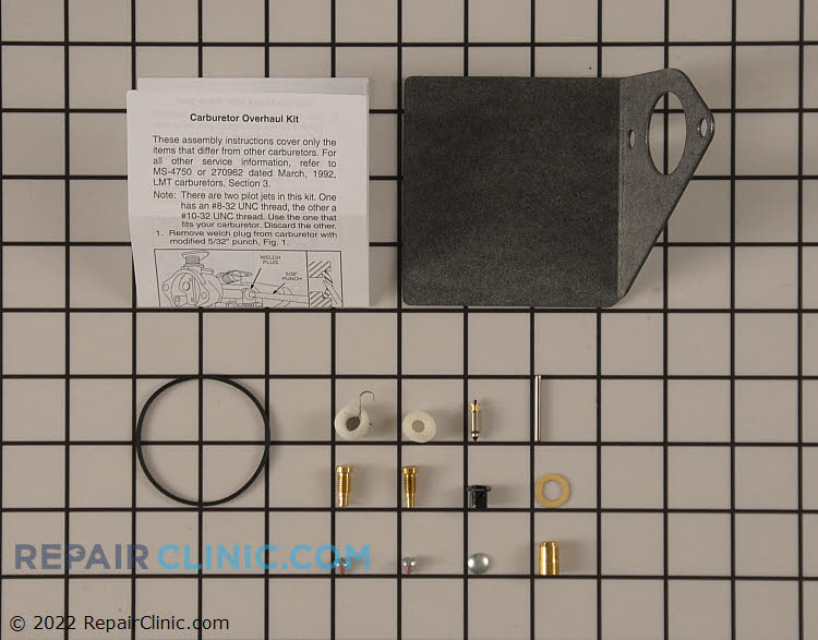 Carburetor Repair Kit 497849          Alternate Product View