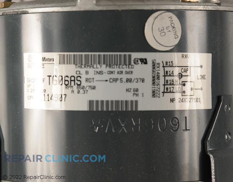 Fan Motor 11114907        Alternate Product View