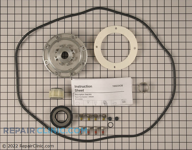 Tub Seal and Bearing Kit W10116790       Alternate Product View