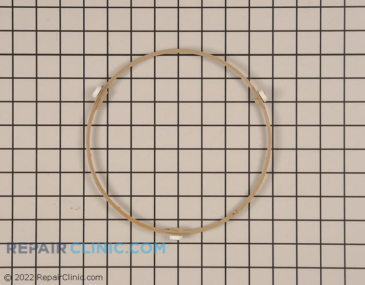 Roller guide assembly. This ring is approximately 8 inches in diameter
