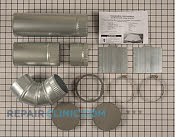 Side Venting Kit - Part # 1796749 Mfg Part # W10323246