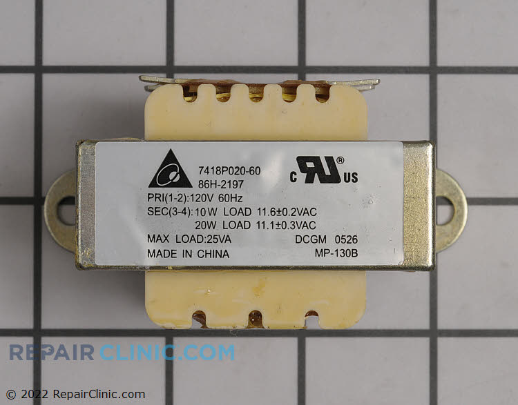 Transformer 74005416 Alternate Product View