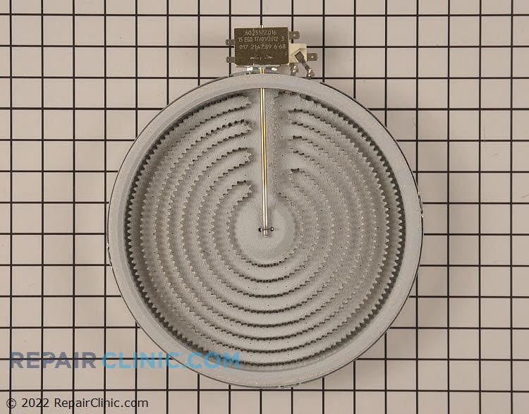 Radiant surface element