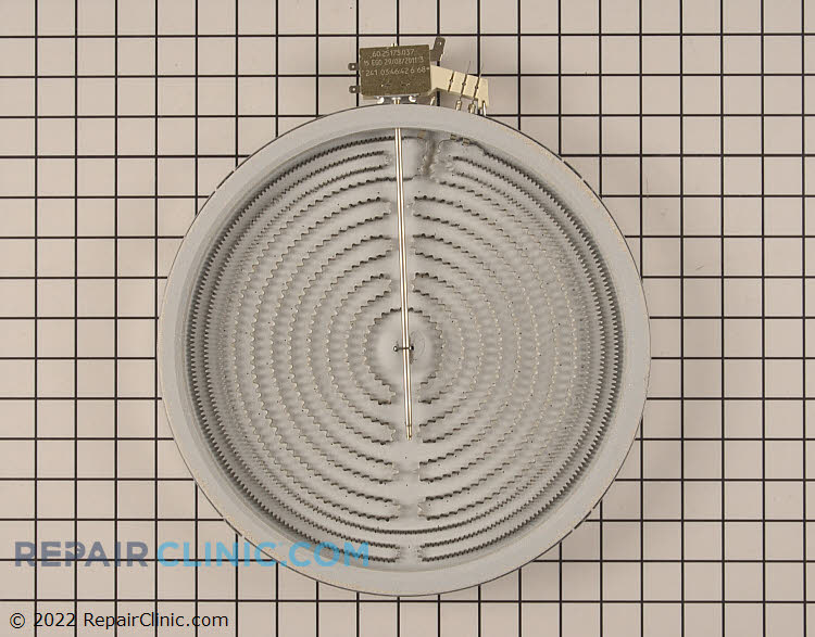 Dual radiant surface heating element