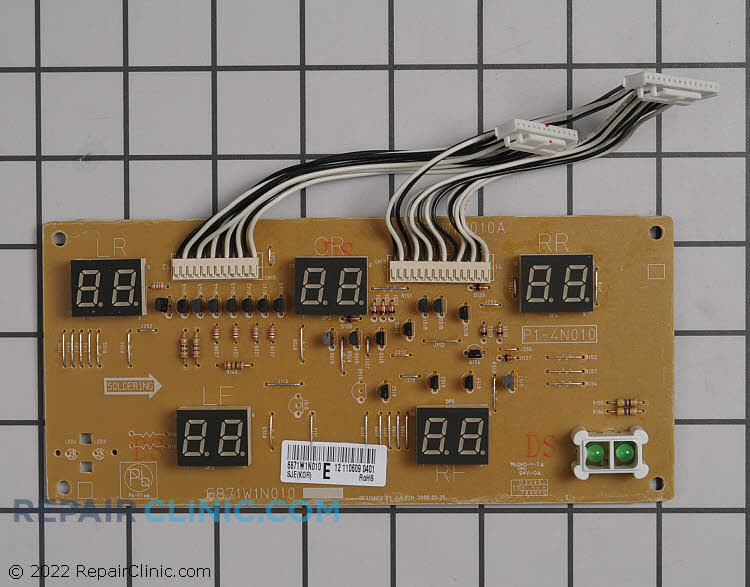 Surface Element Board 6871W1N010E     Alternate Product View