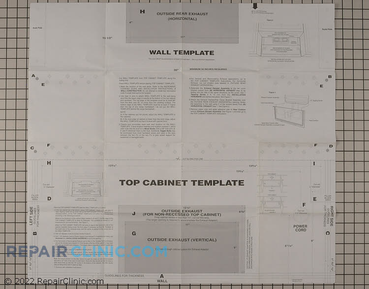 Microwave Template 5304458571 Fast