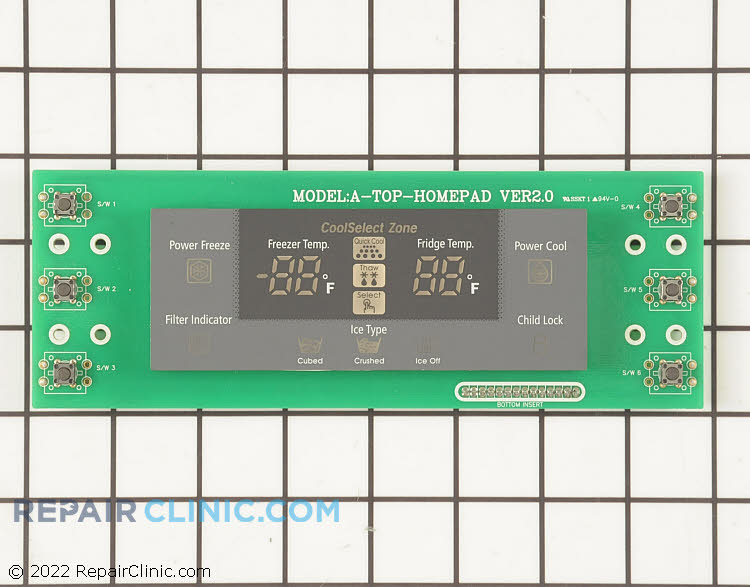 User Control and Display Board DA41-00204C Alternate Product View