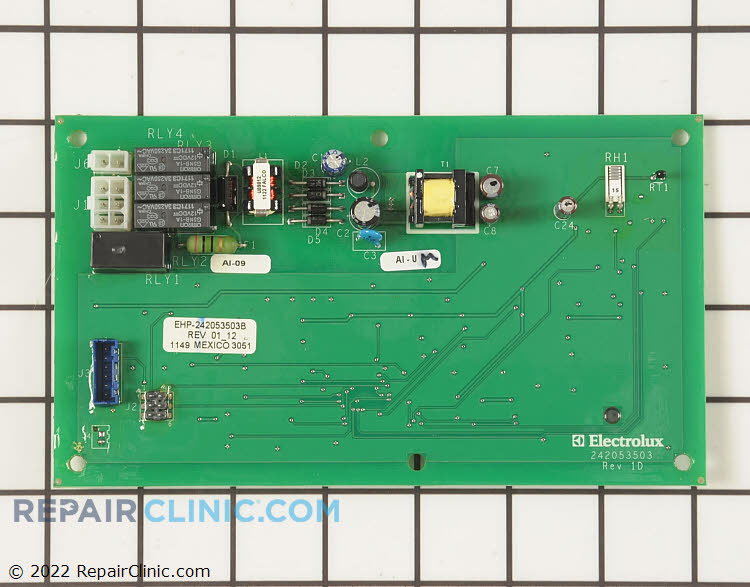 Main Control Board 242053503 Alternate Product View