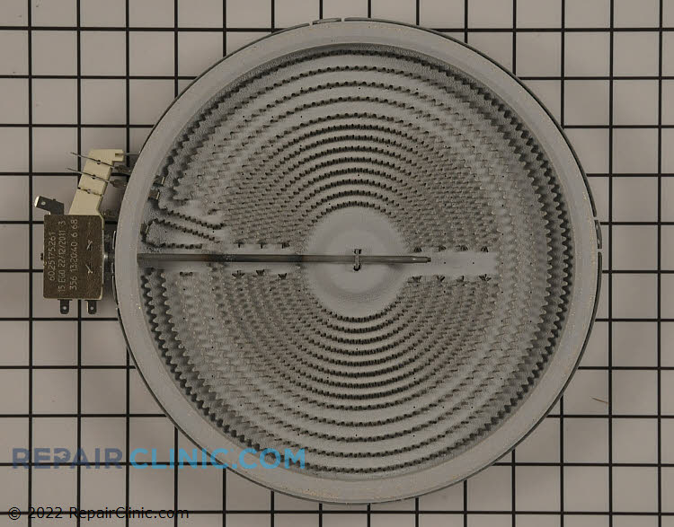 Dual surface element, 9 inches/ 6 inches. 1200/2500 watt