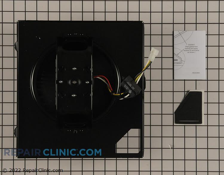 Vent motor assembly