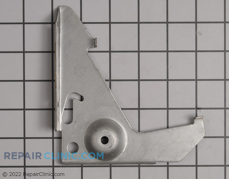 Broiler hinge bracket for the left side
