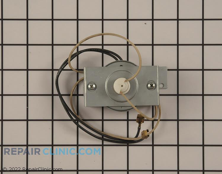 Stirrer motor with belt