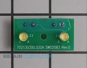 Dispenser Control Board - Part # 1477986 Mfg Part # WR55X10899
