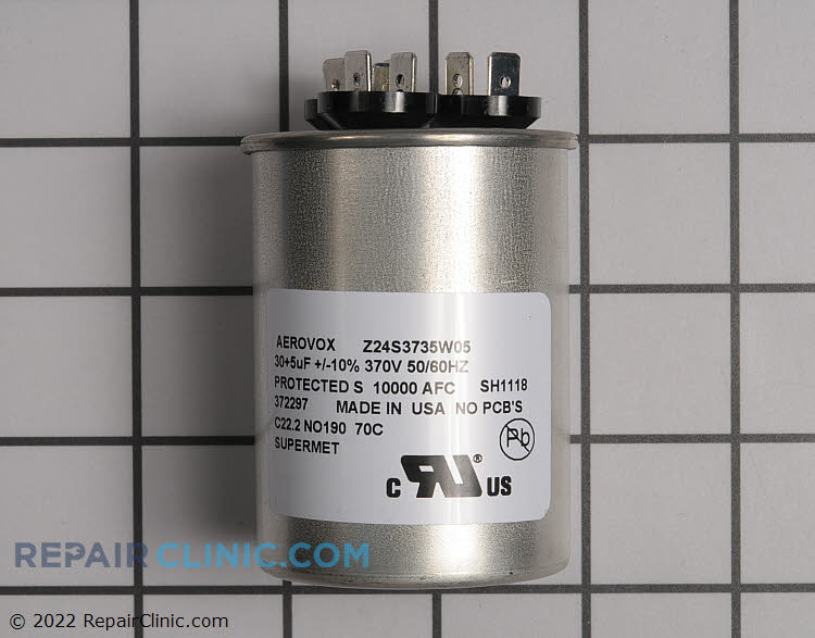 Dual Run Capacitor 30+5 mfd  370v