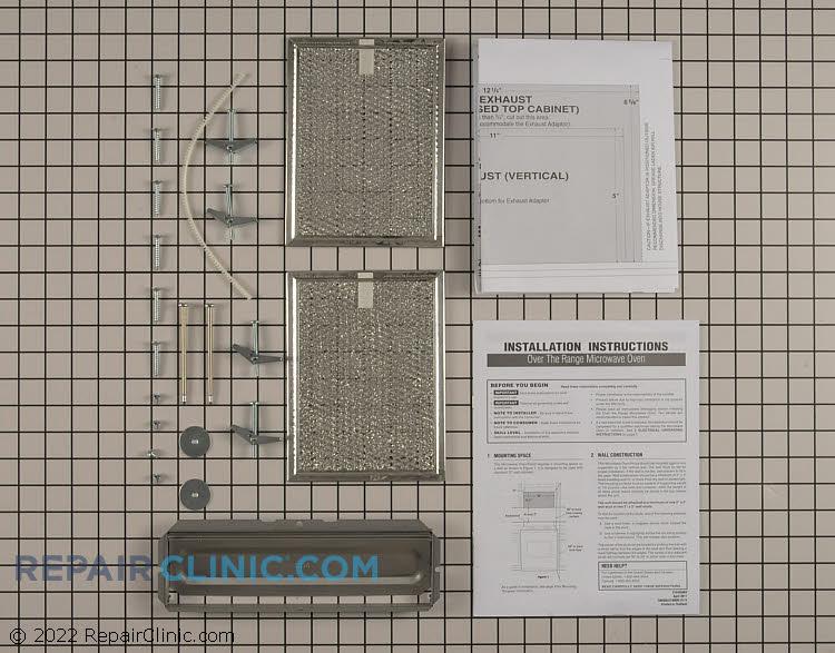 Microwave Hardware Kit 5304468216