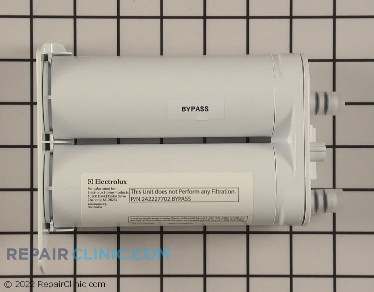 Water Filter Bypass Plug 242227702       Alternate Product View