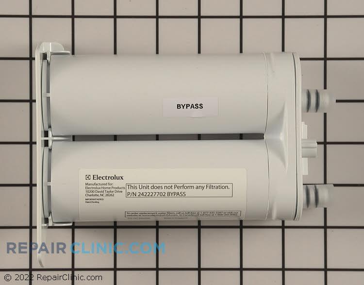 Water filter bypass