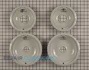 Burner Drip Bowl kit - Part # 1567001 Mfg Part # W10291024
