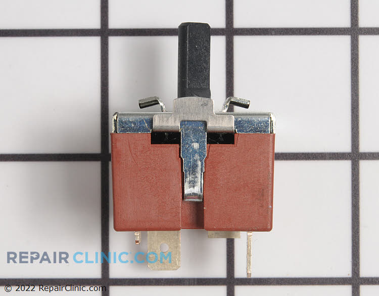 Three position temperature selector switch