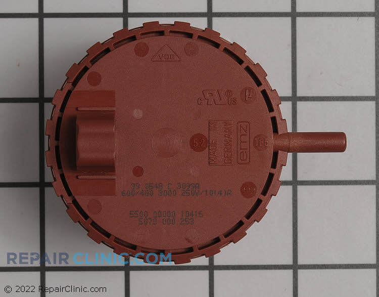 Pressure Switch 00491682 Alternate Product View