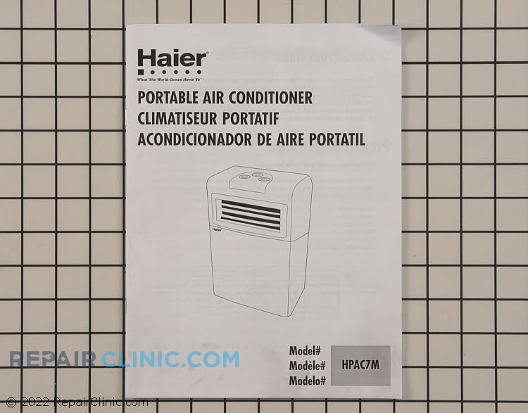Owner's Manual AC-9999-16      Alternate Product View